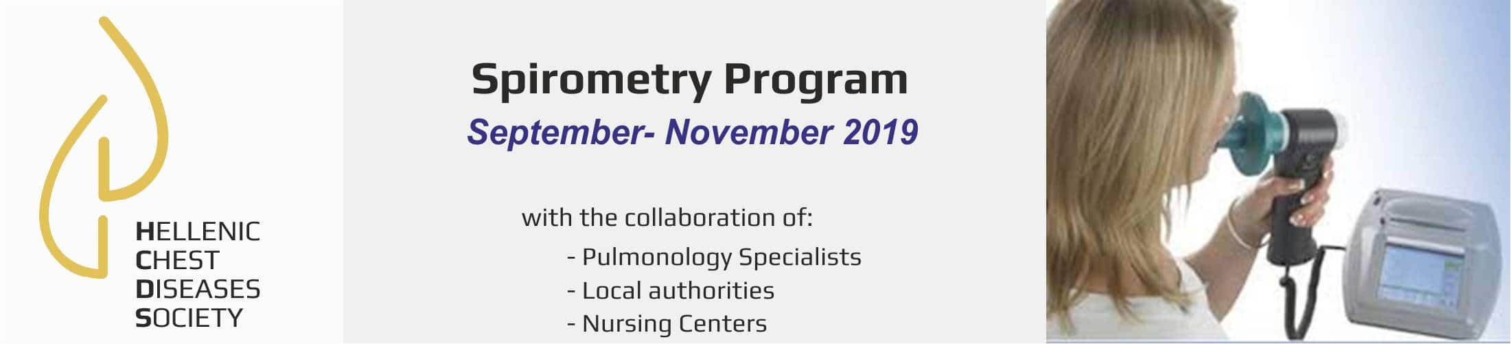 Spirometry Program 2019