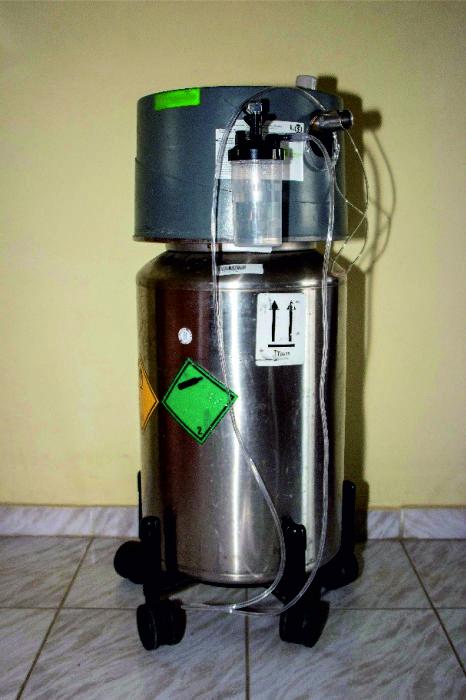 Τροχήλατη δεξαμενή υγρού οξυγόνου