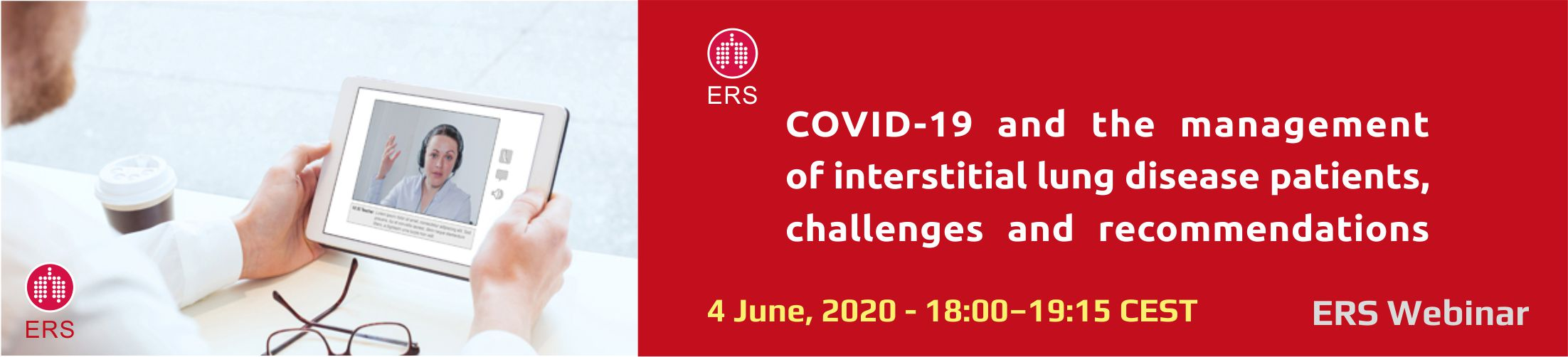 ERS webinar-COVID-19 and the management of interstitial lung disease patients_1a